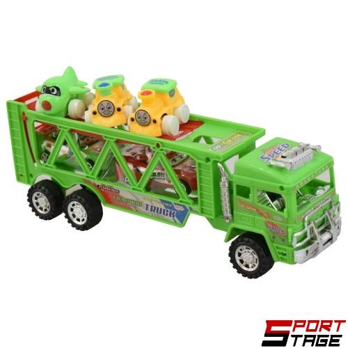Камион инерционен автовоз с маховик и коли