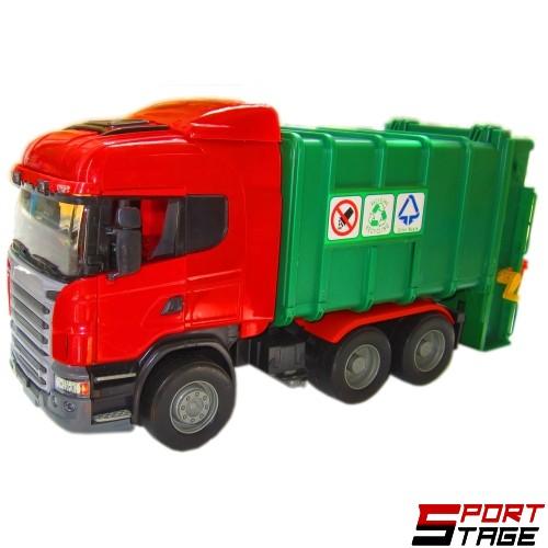 Камион боклукчийски голям инерционен с маховик