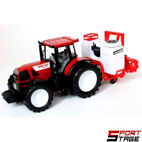 Трактор инерционен с маховик и приставка