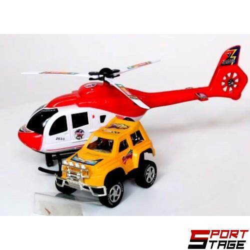 Хеликоптер инерционен с джип