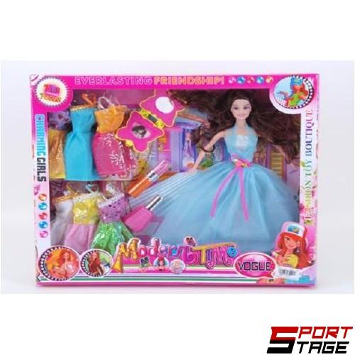 Кукла с рокли и аксесоари