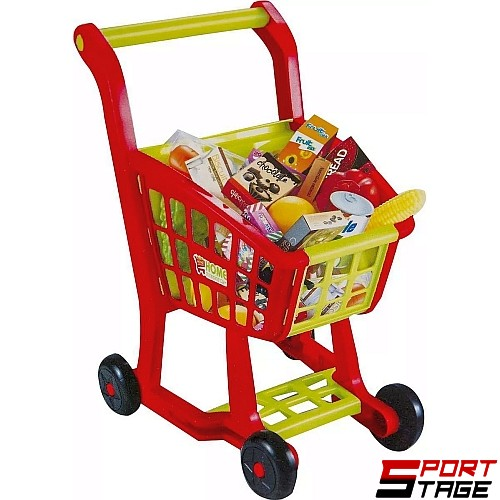 Количка за супермаркет с покупки