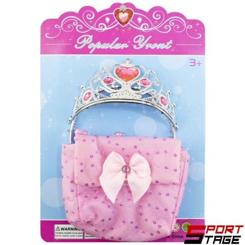 Корона с чанта комплект
