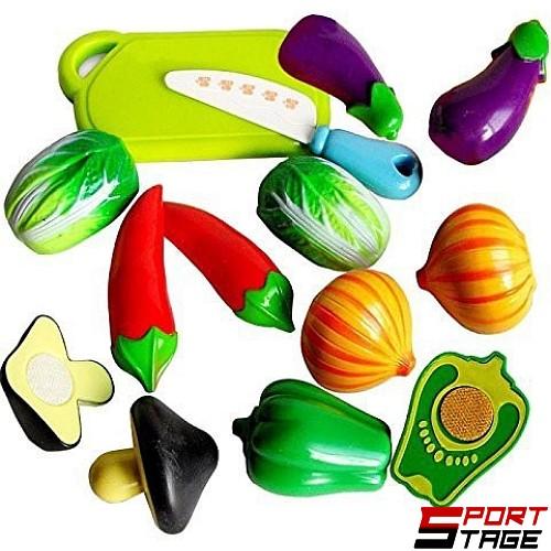 Комплект плодове и зеленчуци за рязане