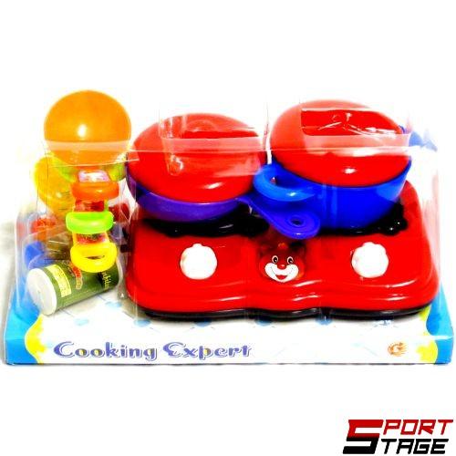 Кухненски комплект с печка и аксесоари