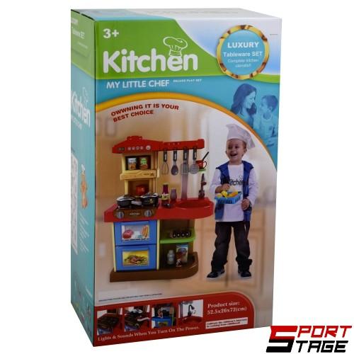 Кухня със звук и светлина