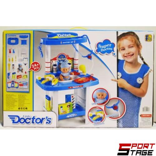 Комплект чичо доктор с кукла
