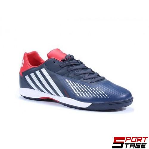 Футболни обувки - стоножки JUMP 8861 NAVY/RED