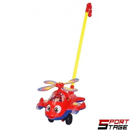 Играчка за бутане хеликоптер