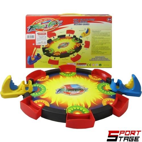 Игра с изстрелващи дискове за двама