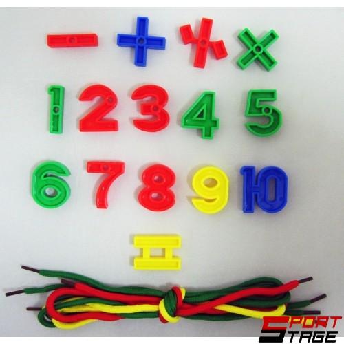 Конструктор 500 грама елементи с различни цветове