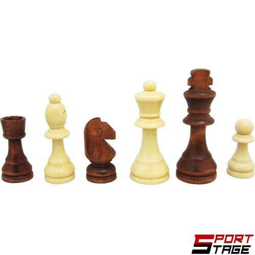 Фигури за шах дървени 4.5-9см