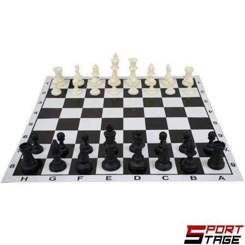 Шах MAXIMA, С игрално поле от картон, В картонена кутия