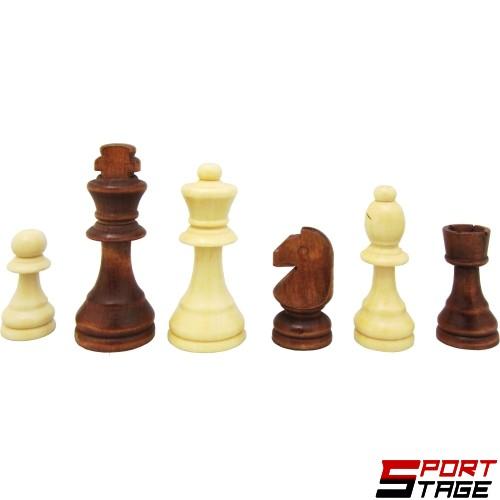 Фигури за шах дървени 5-10.5см