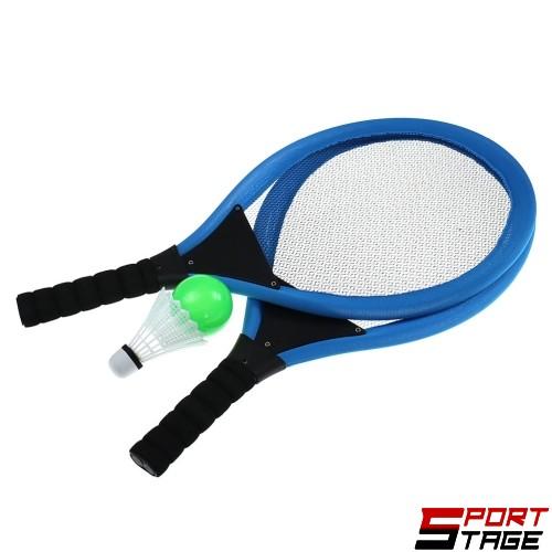 Детски игрален комплект за тенис и бадминтон