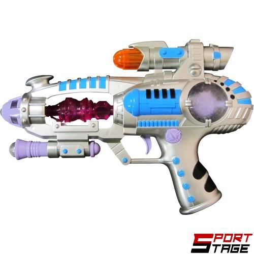 Играчка пистолет с батерии и белезници