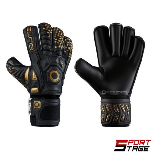 Вратарски ръкавици ELITE BLACK REAL