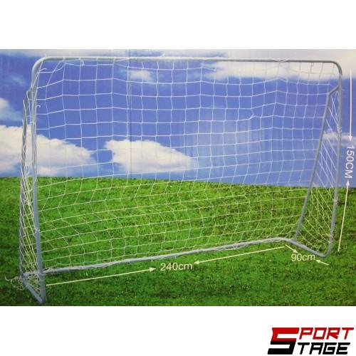Врата за мини футбол 242x149x90 см, Сглобяема с мрежа