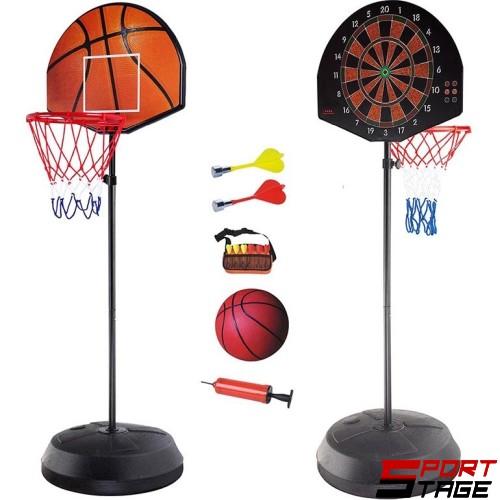 Баскетболно табло с дартс