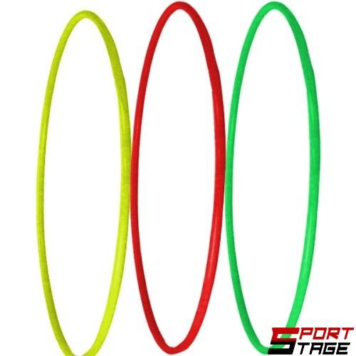 Обръч гимнастически 85см в неонови цветове