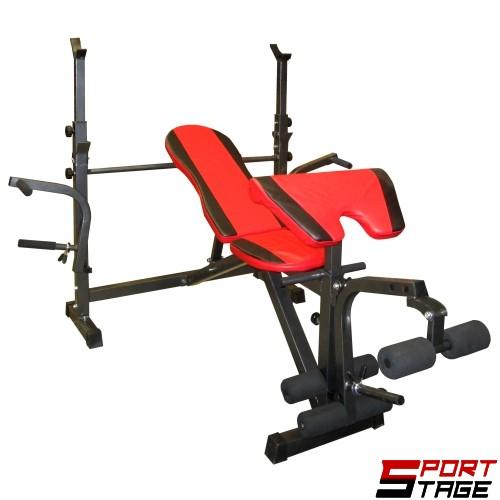 Комбинирана лежанка за вдигане на тежести MAXIMA