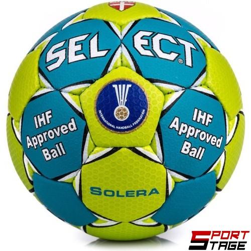 Топка хандбална SELECT Solera №3, одобрена от IHF Bgr