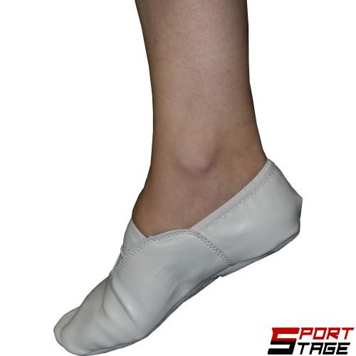 Обувки танцови бели