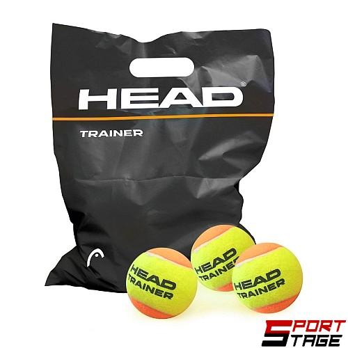 Топки за тенис на корт HEAD, Trainer 72 броя в плик