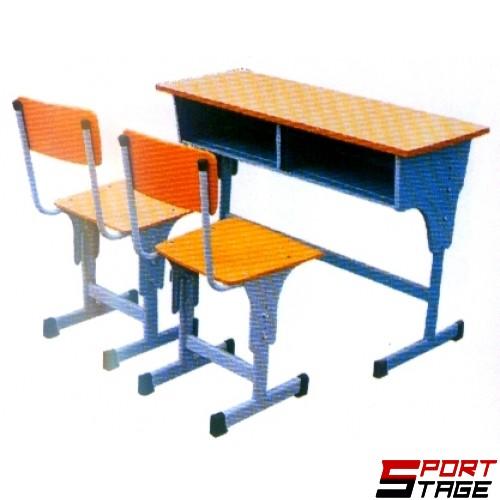 Двоен ученически чин със столове