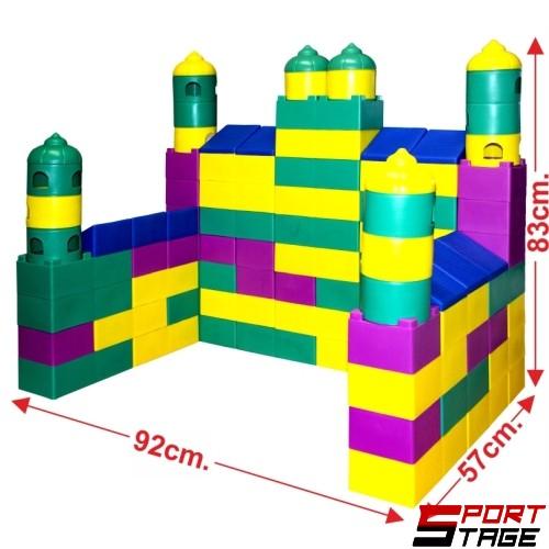 Конструктор – строител с големи части