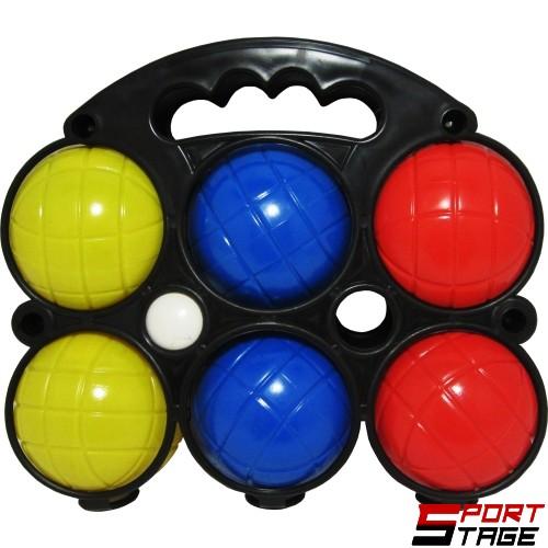 Комплект 6 топки за петанк от PVC