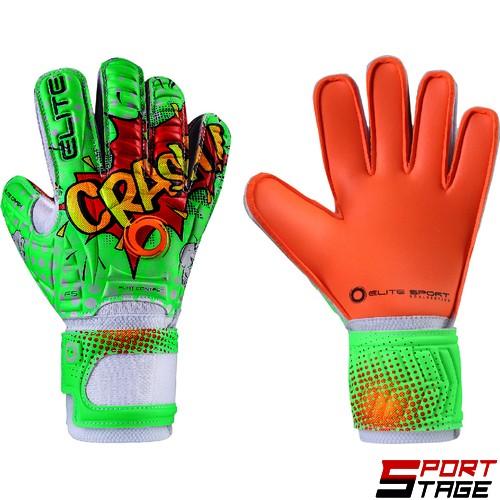Детски вратарски ръкавици ELITE CRASH