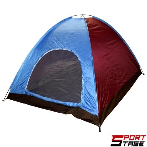 Палатка петместна (еднослойна) 280х210х160 см