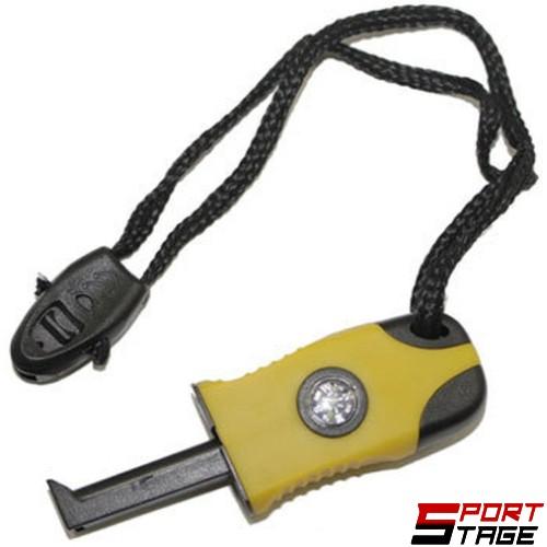 Комплект за оцеляване- магнезиева запалка, компас и свирка