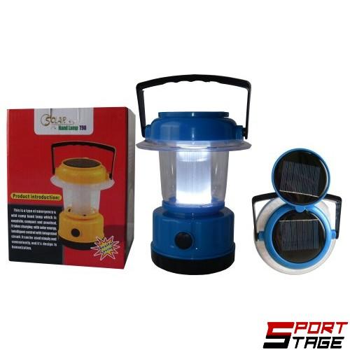 Къмпинг фенер със соларна батерия