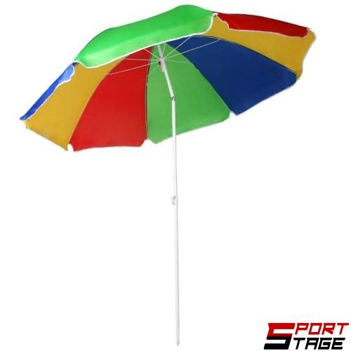 Чадър плажен 170 см