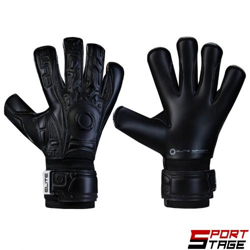 Вратарски ръкавици ELITE BLACK SOLO