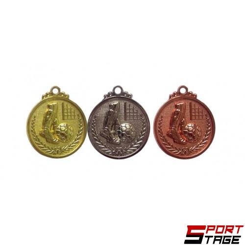 Медал футбол 4см
