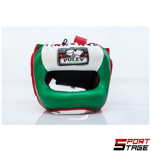Каска Pulev Sport Face Bar Flag
