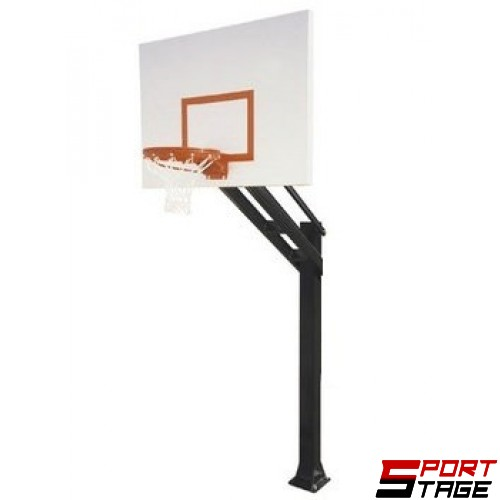 Баскетболна конструкция фиксирана табло 1.80 x 1.05 м.