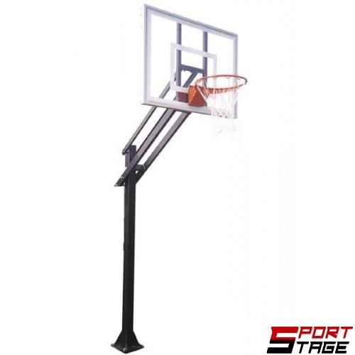 Баскетболна конструкция фиксирана -табло 1.80 x 1.05м.