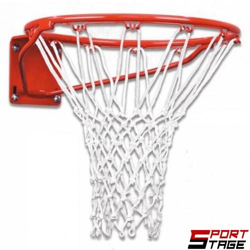Баскетболен кош 45 см. с твърдо окачване без мрежа