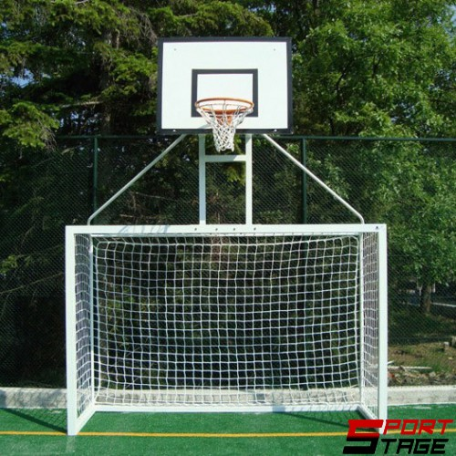 Врата за мини-футбол с баскетболна надстройка