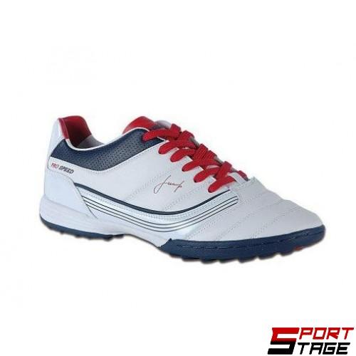 Футболни обувки - стоножки JUMP 8375 WHITE