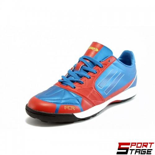 Футболни обувки - стоножки JUMP 8071 ROYAL/RED