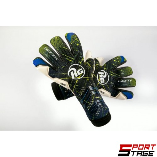 Вратарски ръкавици RG BIONIX NEGATIVE YELLOW