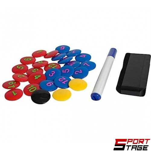 Комплект магнити за треньорска дъска по футбол SELECT