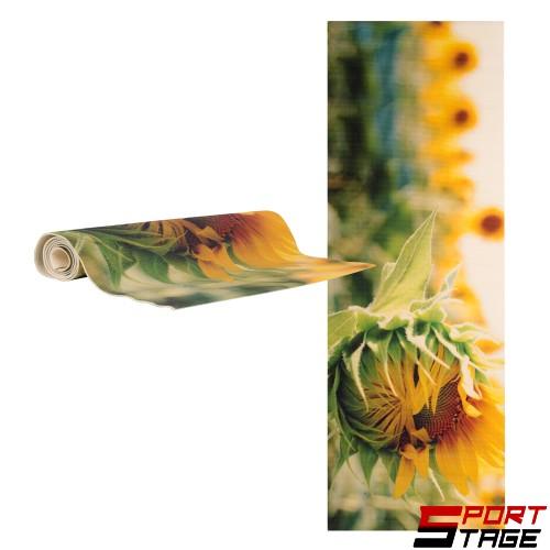 Постелка за йога inSPORTline Medita - цвете